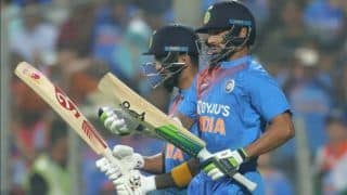 Indvsl 3rd t20 sri lanka restricts india to 201 6 despite kl rahul shikhar dhawans half century 3905626