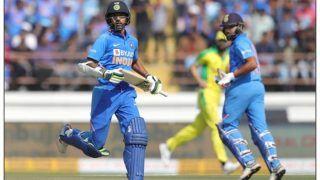 Ind vs Aus : धवन 4 रन से शतक चूके, केएल राहुल-कोहली के अर्धशतक, ऑस्ट्रेलिया केे सामने 341 रन का लक्ष्य