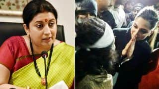 Deepika Padukone Chose to Stand With People Who Wanted India's Destruction: Smriti Irani on Actor's JNU Visit