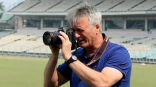 Former Australia Captain Steve Waugh Returns to Eden Garden, This Time as Photographer
