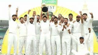 On this day team india first time win test series in australia against host 3901675