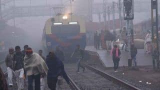 14 Trains Running Late Due to Low Visibility in Northern Railway Region