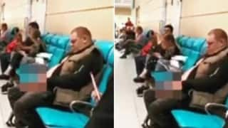 Watch | Passengers Are Left Disgusted After Man Urinates in Front of Them At Airport Terminal