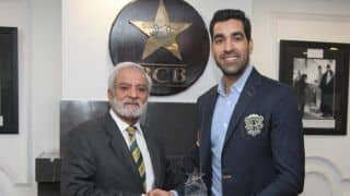 Umar Gul Honoured by PCB for 2009 World T20 Heroics