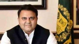 Pakistan Minister Fawad Chaudhry Slaps TV Anchor After he Linked Him With TikTok Star Hareem Shah