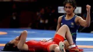 Wrestling: Vinesh Phogat Downs Two Tough Chinese Rivals, to Fight for Gold in 53 kg Category