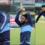 India vs Sri Lanka: Virat Kohli Copies Harbhajan Singh's Action Ahead of The 2nd T20I at Indore | WATCH VIDEO