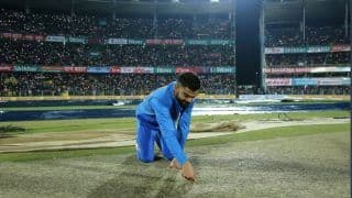 Indvsl 1st t20 guwahati t20 washed out due to rain 3900046