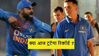 Ind vs aus mumbai odi virat kohli just 1 catch behind beating rahul dravid in odis 3908896