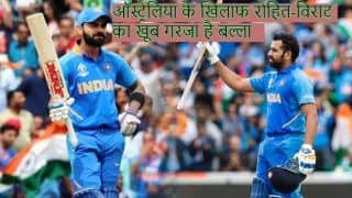 India vs australia know about batting records rohit sharma virat kohli against australia in odi 3908115