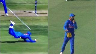 Ind vs Aus: Virat Kohli Takes a Stunning Catch to Send Marnus Labuschagne Packing at Bengaluru During 3rd ODI | WATCH VIDEO