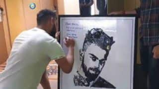 Indian Cricket Captain Virat Kohli's Fan Makes His Portrait Using Old Mobile Phones And Wires | Watch