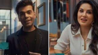 Sunny Leone Goes on a Romantic Date on Karan Johar's 'What The Love', Shares BTS Video