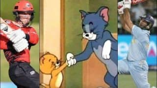 Yuvraj Singh Welcomes Canterbury Kings' Leo Carter to 'Six Sixes' Club Using Tom And Jerry Cartoon | SEE POST