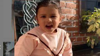 MS Dhoni की बेटी Ziva ने हिंदी या इंग्लिश नहीं इस भाषा में गाया गाना, सुनकर हैरान हुए लोग बोले...