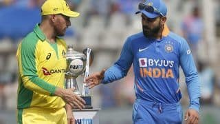 IND vs AUS, 3rd ODI: Hazlewood in for Richardson as Australia Opt to Bat First, India Are Unchanged
