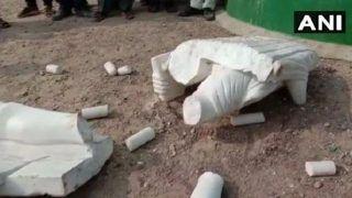Gujarat: Statue of Mahatma Gandhi Vandalised in Amreli District, Case Registered
