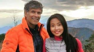 Milind Soman-Ankita Konwar's Friday Faces From The Top of Mount Takao Give Couple Goals as They Trek in Tokyo