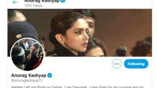 Anurag Kashyap Changes Twitter DP And Cover With Deepika Padukone's Image, Urges People to Watch Chhapaak