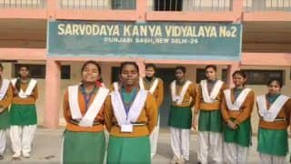 Watch | Delhi Govt School Students Wish 'Happy New Year 2020' in Different Indian Languages