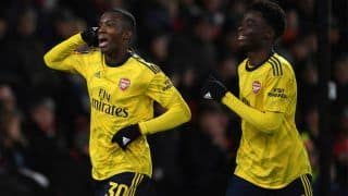 Saka, Nketiah Fire Arsenal Home, Reach FA Cup Fifth Round