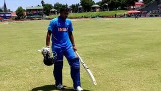 ICC Under-19 Cricket World Cup 2020: Atharva Ankolekar, Ravi Bishnoi's Rearguard Effort Helps India Under-19 to 233/9 vs Australia in Quarterfinal