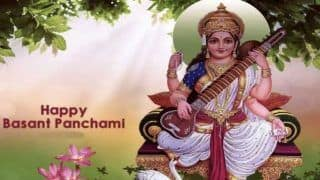 Basant Panchami 2020: Know The Date, Time and Significance of Saraswati Puja