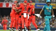 Brisbane Heat Lose 10 For 36 Against Melbourne Renegades to Record Worst Collapse in BBL History