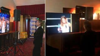 'Wow'! Brad Pitt Stops to Watch Jennifer Aniston's Acceptance Speech After Meeting Her Backstage at SAG Awards 2020