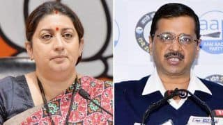 'Nirbhaya Convicts Couldn't be Hanged in Time,' Smriti Irani Targets AAP; Arvind Kejriwal Says Not The Time to do Politics