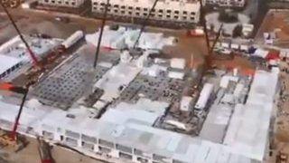 Watch | China Sets up Coronavirus Hospital in 48 Hours