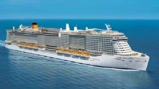 Over 6,000 Tourists Trapped in Italian Cruise Ship Over Fears of Coronavirus