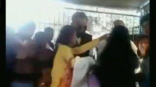 VIDEO : कोर्ट परिसर में महिलाओं के बीच हुई झड़प, पुरुष वकील ने लड़कियों पर जमकर बरसाए घूंसे