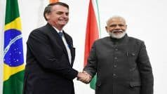 Brazil President Bolsonaro Arrives as Republic Day Chief Guest Today With Trade Ties on Agenda