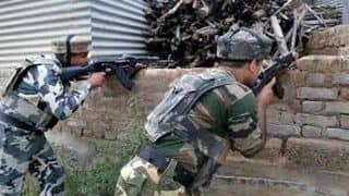 Three Terrorists Gunned Down in J&K's Pulwama, Arms and Ammunition Recovered