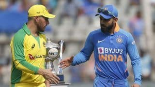 India vs Australia 2020, 2nd ODI: Aaron Finch Wins Toss, Opts to Bowl First in Rajkot