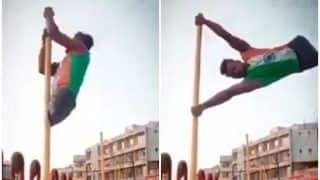 Anand Mahindra Shares Clip of An Amputee Climbing a Flag Pole, Inspiring Video Moves Netizens | Watch