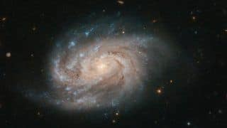 NASA's Hubble Telescope Spots A Galaxy From 200 Million Light-Years Away, Releases Photo
