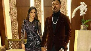 """Starting The Year With My Firework,"" Hardik Pandya Confirms Relationship With Model Natasa Stankovic"