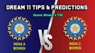 Dream11 Team Prediction India A Women vs India C Women: Captain And Vice Captain For Today Senior Women's T20 Match 3 IN-A-W vs IN-C-W at Barabati Stadium in Cuttack 11:00 AM IST  January 6