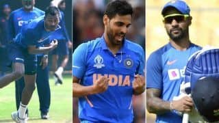 Injured Hardik Pandya, Bhuvneshwar Kumar and Shikhar Dhawan to be Monitored at NCA