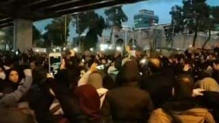Watch   Iranians Chant 'Death to Dictator' After Iran Admits Shooting Down Plane