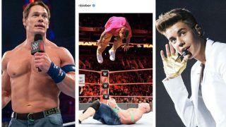 WWE: Wrestler John Cena, Singer Justin Bieber Trade Blows on Social Media