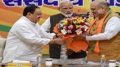 J.P Nadda President of BJP: पीएम मोदी की पसंद जेपी नड्डा, दिल्ली चुनावों में दिखाना होगा दम