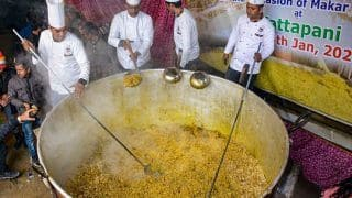 HP Tourism Dept Sets Guinness World Record By Preparing 1995 Kg of 'Khichdi' On Makar Sankranti