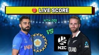 Live cricket score India vs New Zealand, IND vs NZ 4th T20I, Wellington, January 31 Match Time