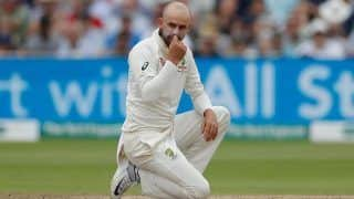 Australia Offspinner Nathan Lyon Against Four-Day Test Matches