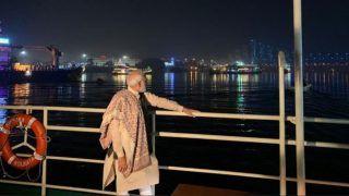 Watch | How Lit-up Howrah Bridge Looks, PM Modi Tweets Video