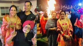 Mona Singh Celebrates First Lohri After Marriage, Pictures Will Give You Punjabi Feels