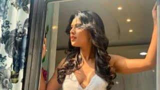 Nia Sharma's Look in White Summery Plunging Neckline Dress Sets Internet on Fire, Picture Garners Over 1 Lakh Likes